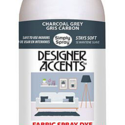simply spray upholstery spray paint 237ml spray can charcoal grey